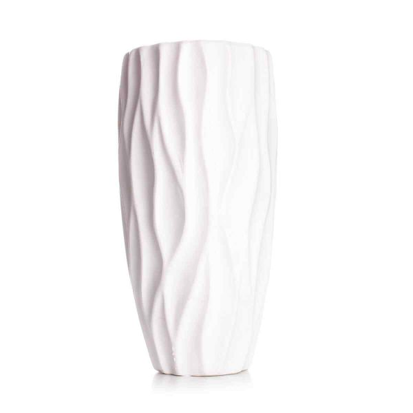 White decorative vase 1