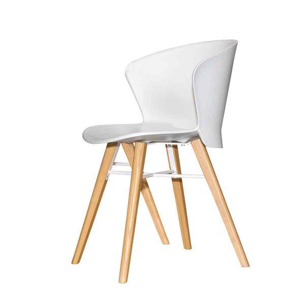 Modern white chair 1