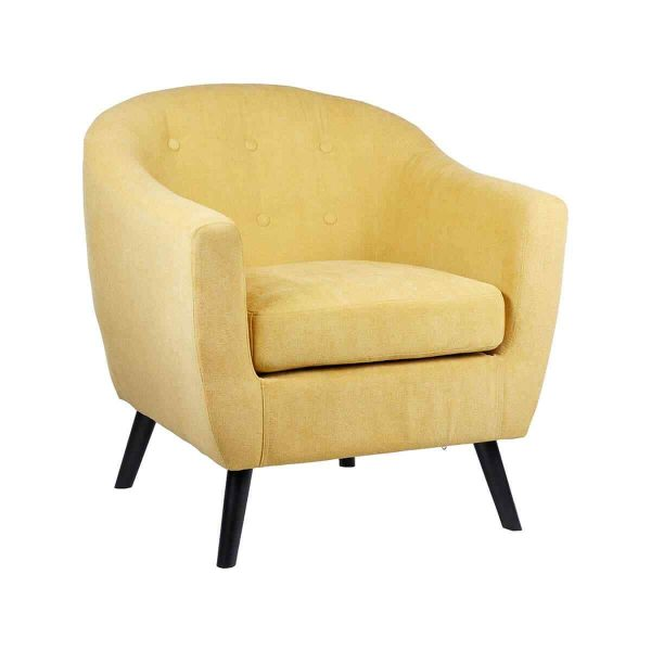 Yellow comfy chair 1