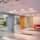 office reception area